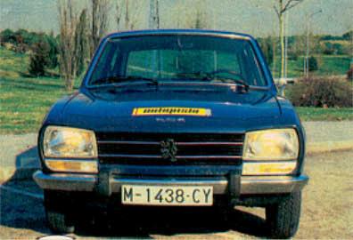 Prueba Peugeot 504 Gld Piel De Toro La Web De Los Coches Clasicos