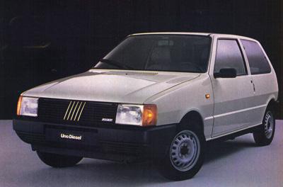 Prueba Fiat Uno Diesel Piel De Toro La Web De Los Coches Clasicos